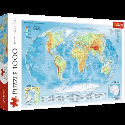 Puzzle Trefl Mapa świata 10463