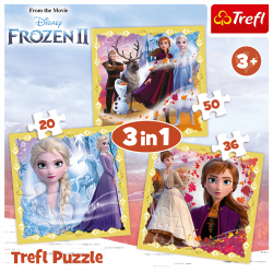 Trefl Puzzle 3w1 Kraina...