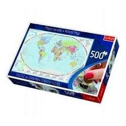 Puzzle ze zdrapką Mapa...