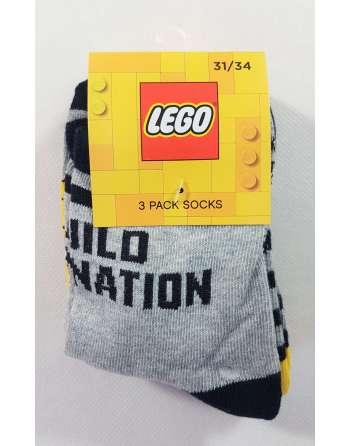 Skarpetki dziecięce LEGO 3...